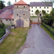 der Zustand des Schlosses im Jahr 2000