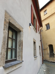Details im Innenhof