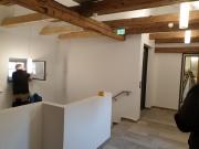 Arbeiten im Treppenhaus