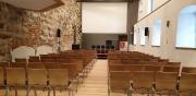 der Theateraufbau für kulturelle Veranstaltungen