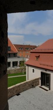 Blick aus dem Torhaus