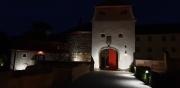 Nachtbeleuchtung am Stadtschloss 09/2019