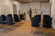 Aufbau für Trauungen im Reliefzimmer (Torhaus)